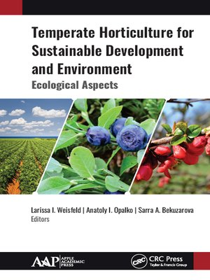 cover image of Temperate Horticulture for Sustainable Development and Environment