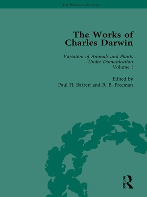 cover image of The Works of Charles Darwin