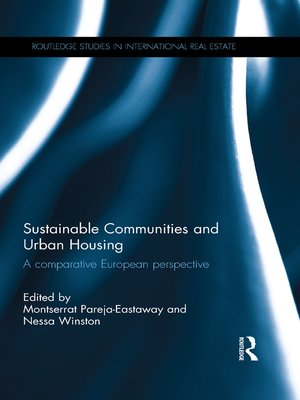 cover image of Sustainable Communities and Urban Housing