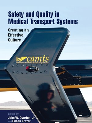 cover image of Safety and Quality in Medical Transport Systems