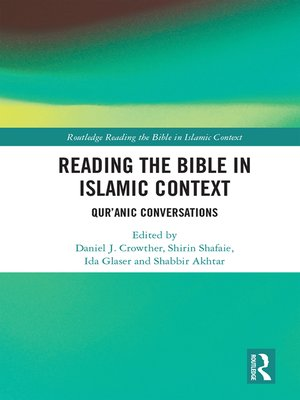cover image of Reading the Bible in Islamic Context