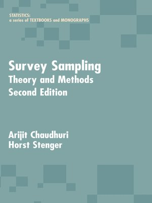 cover image of Survey Sampling