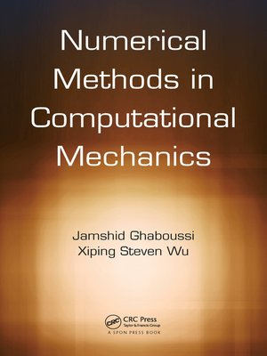 cover image of Numerical Methods in Computational Mechanics