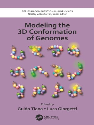 cover image of Modeling the 3D Conformation of Genomes