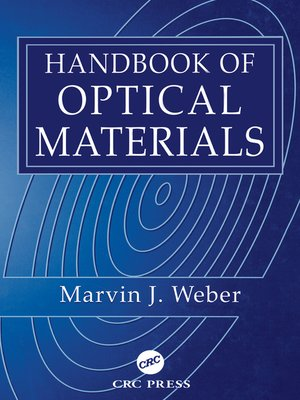 cover image of Handbook of Optical Materials