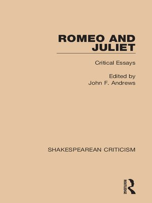 romeo and juliet theme essay