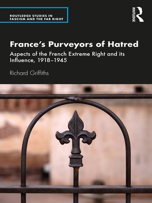 cover image of France's Purveyors of Hatred