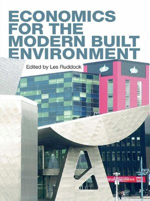 cover image of Economics for the Modern Built Environment