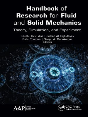 cover image of Handbook of Research for Fluid and Solid Mechanics