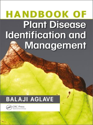 cover image of Handbook of Plant Disease Identification and Management