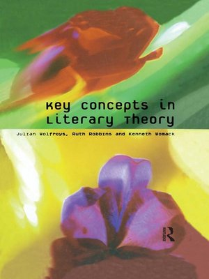 cover image of Key Concepts in Literary Theory