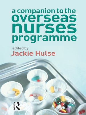 cover image of A Companion to the Overseas Nurses Programme