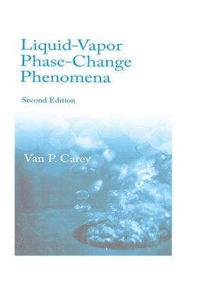 cover image of Liquid Vapor Phase Change Phenomena