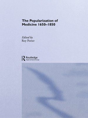 cover image of The Popularization of Medicine