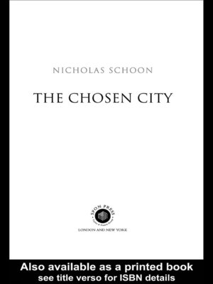 cover image of The Chosen City