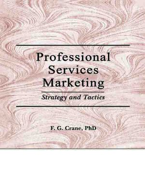 cover image of Professional Services Marketing