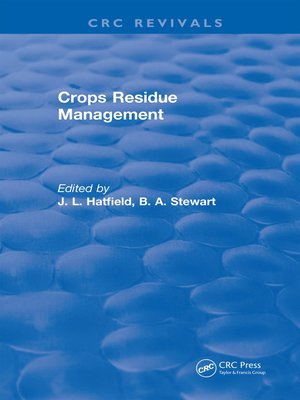 cover image of Crops Residue Management