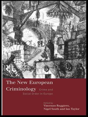cover image of The New European Criminology