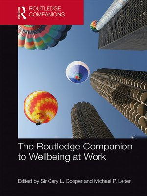 cover image of The Routledge Companion to Wellbeing at Work