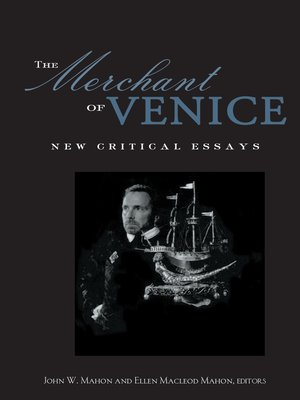 cover image of The Merchant of Venice