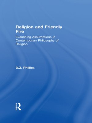 cover image of Religion and Friendly Fire