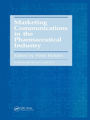 cover image of Marketing Communications in the Pharmaceutical Industry