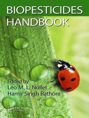cover image of Biopesticides Handbook