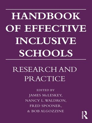 cover image of Handbook of Effective Inclusive Schools