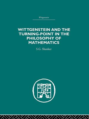 cover image of Wittgenstein and the Turning Point in the Philosophy of Mathematics