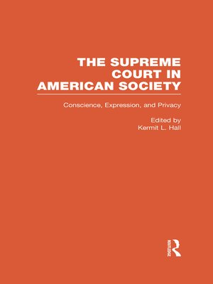 cover image of Conscience, Expression, and Privacy