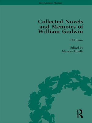 cover image of The Collected Novels and Memoirs of William Godwin Vol 8