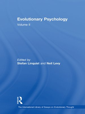 cover image of Evolutionary Psychology