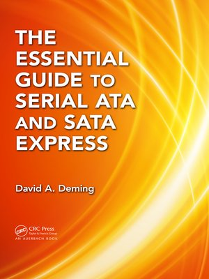 cover image of The Essential Guide to Serial ATA and SATA Express