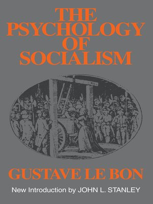 cover image of The Psychology of Socialism