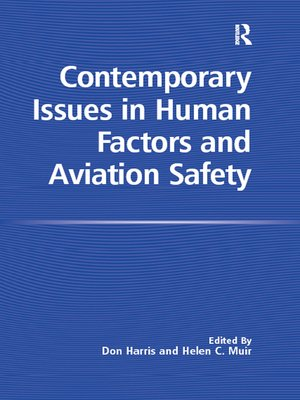 cover image of Contemporary Issues in Human Factors and Aviation Safety
