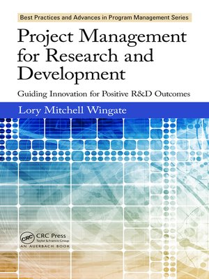cover image of Project Management for Research and Development