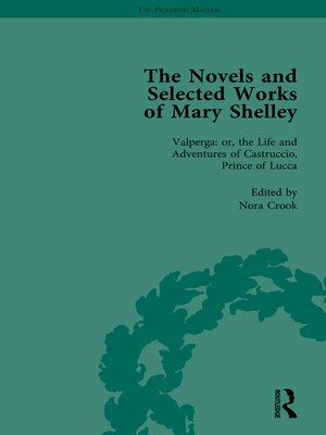 cover image of The Novels and Selected Works of Mary Shelley Vol 3