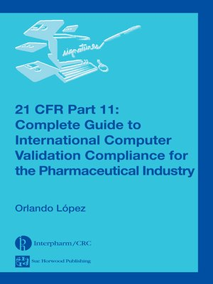 cover image of 21 CFR Part 11