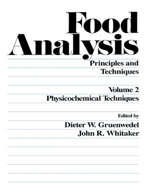 cover image of Food Analysis