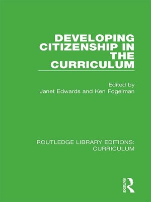 cover image of Developing Citizenship in the Curriculum