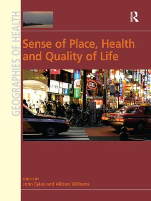 cover image of Sense of Place, Health and Quality of Life