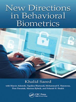 cover image of New Directions in Behavioral Biometrics
