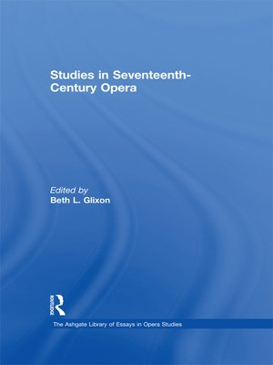 cover image of Studies in Seventeenth-Century Opera