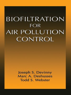 cover image of Biofiltration for Air Pollution Control