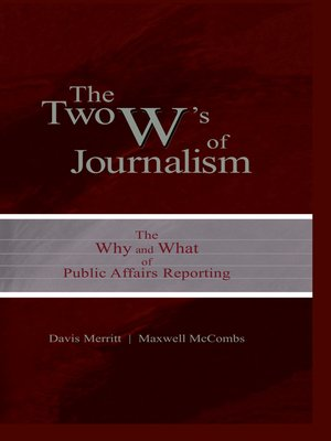 cover image of The Two W's of Journalism