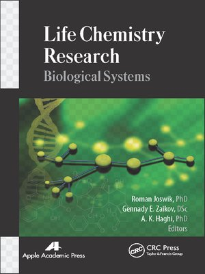 cover image of Life Chemistry Research