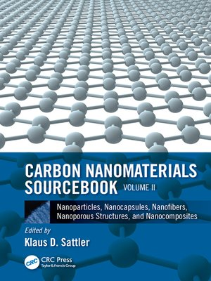 cover image of Carbon Nanomaterials Sourcebook