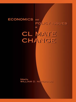 cover image of Economics and Policy Issues in Climate Change