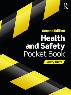 cover image of Health and Safety Pocket Book