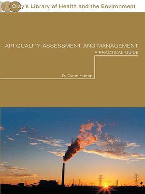 cover image of Air Quality Assessment and Management
